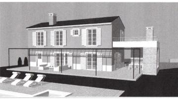 Građevinsko zemljište s građ. dozvolom na prodaju Bale Krmed