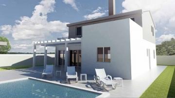 Building plot with planning permission Banjole Volme