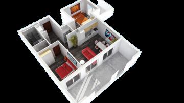Luksuzni dvosobni stan u centru Poreča