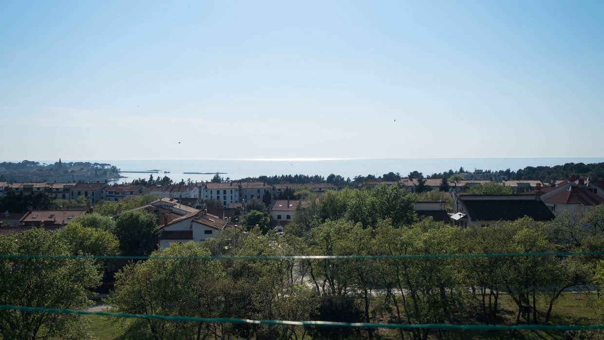 One-bedroom apartment with sea view Poreč
