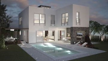 Modern villa for sale near Poreč