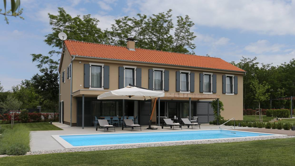 Beautiful new villa near Vižinada
