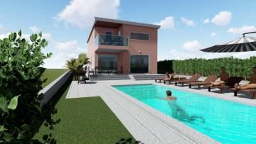 House with pool for sale near Brtonigla