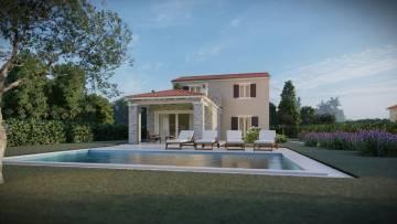 Kuća s bazenom na prodaju u okolici Tinjana
