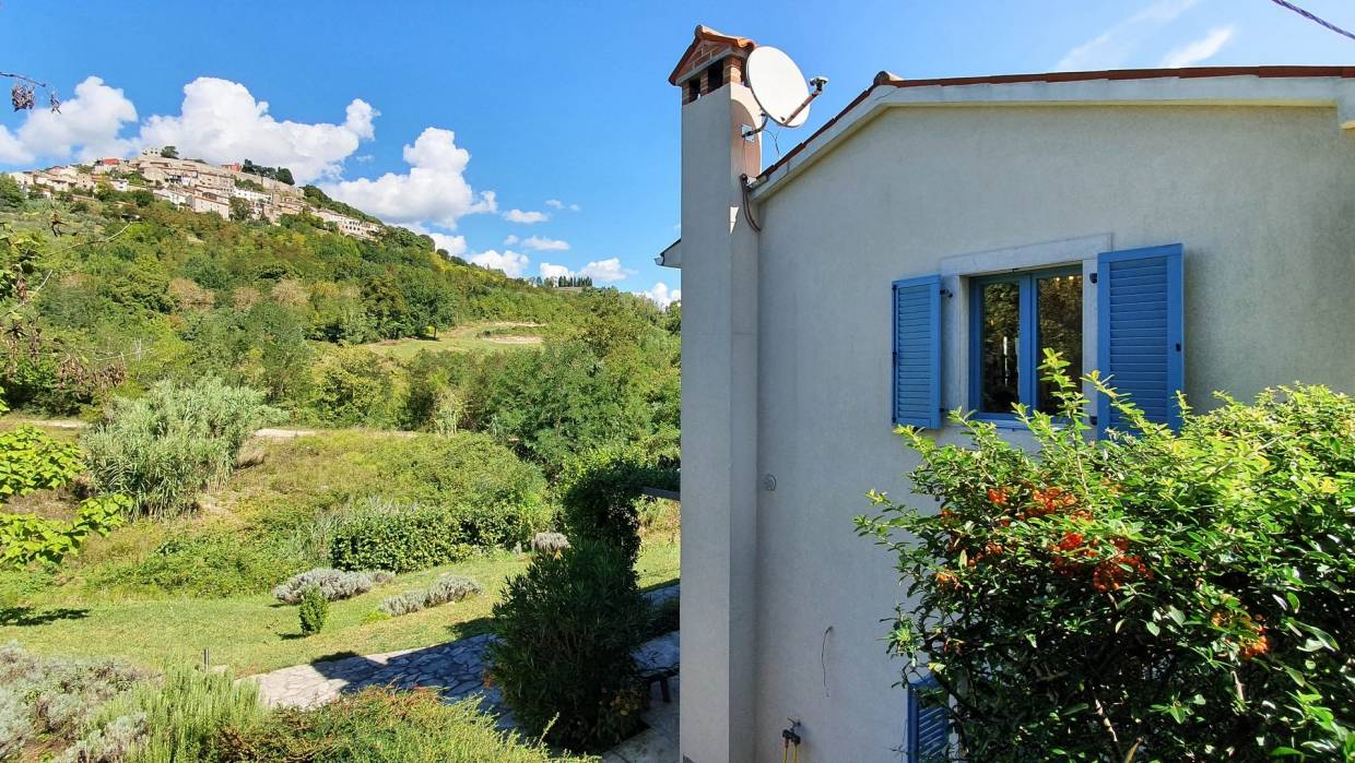 Detached house with a beautiful view of Motovun