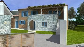 Stone house for renovation Žminj