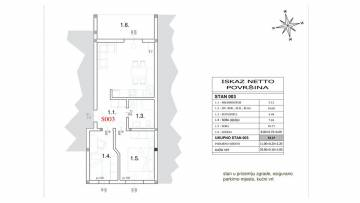 Two bedroom apartment for sale Peroj Fažana